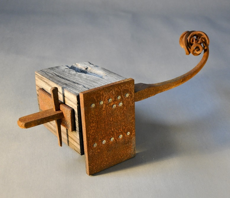 026.WILL-MAGUIRE-Turpentine-Construction-3.-44-x-15-x-18cm-forged-steel-and-turpentine-$-800.00 (3)